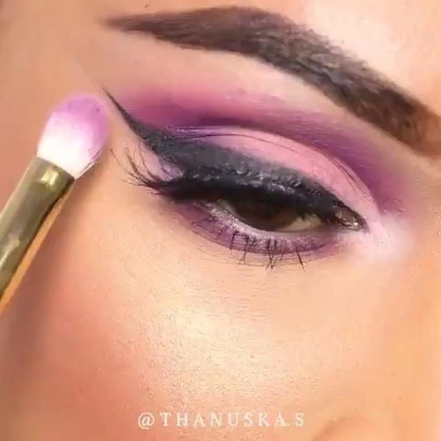 LIVING for this purple cut crease look, perfect for spring 💜 @thanuska.s wears our Whisp It Real Good lashes for a flirty finish.  _ Products: @morphebrushes @jamescharles Palette @hudabeauty @hudabeautyshop Nude Palette (Lace - Eyelids) @velourlashesofficial Lashes in Whisp It Real Good @nyxcosmetics_canada Matte Liquid Liner in Black @fentybeauty Pro Filter Concealer in 350 @fentybeauty Sun Stalkr Bronzer in Bajan Gyal @fentybeauty Killawatt Highlighter in Mean Money/ Hustla Baby @beautybakeriemakeup Yellow Setting Powder @buxomcosmetics Wanderlust Blush in Ibiza @maccosmeticscanada Lip Liner in Chestnut @smashboxcanada Always On Liquid Lipstick in Fair Game @buxomcosmetics Plumping Lip Cream in Seychelles @anastasiabeverlyhills Dewy Set Setting Spray