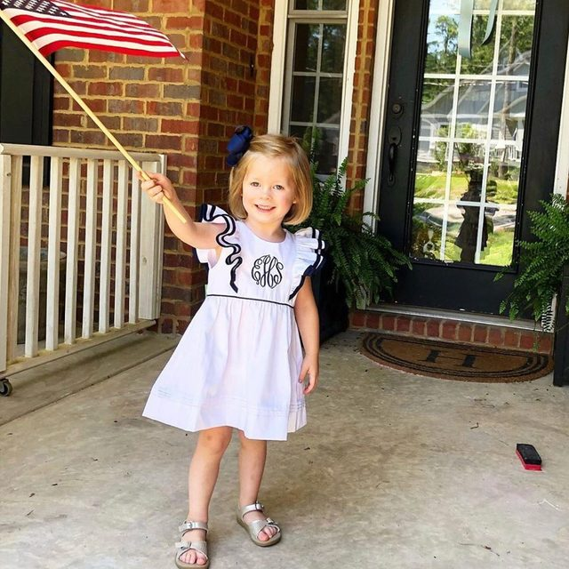 🇺🇸🇺🇸🇺🇸 It has been a gorgeous weekend here in Charleston, minus the 100 degree heat index ☀️ When the Memorial Day celebrations settle down, shop the last few hours of FREE shipping on our site + everything is on sale ! www.shrimpandgritskids.com
