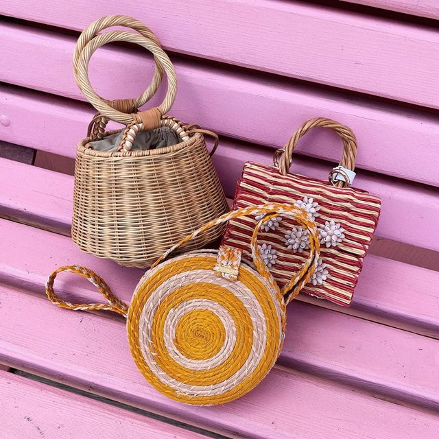 Straw-some summer bags 💞