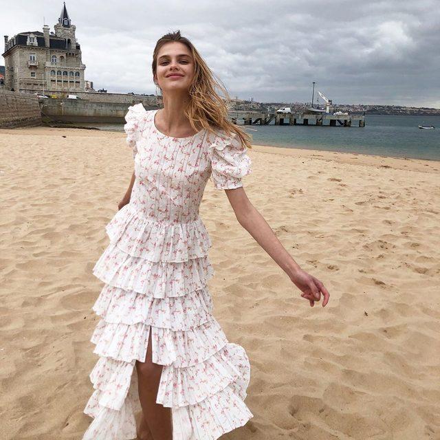 Top-tier dresses (& swimwear!) from @carolineconstas, now in our IG stories 🌸