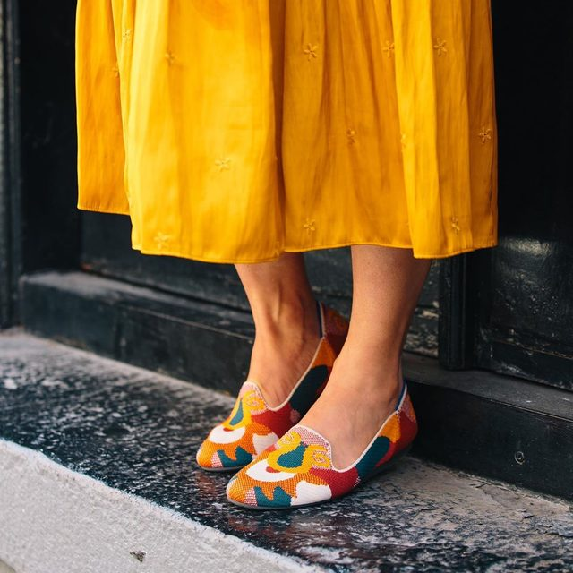 Add a touch of boho chic with the Moroccan Amber Loafer.
