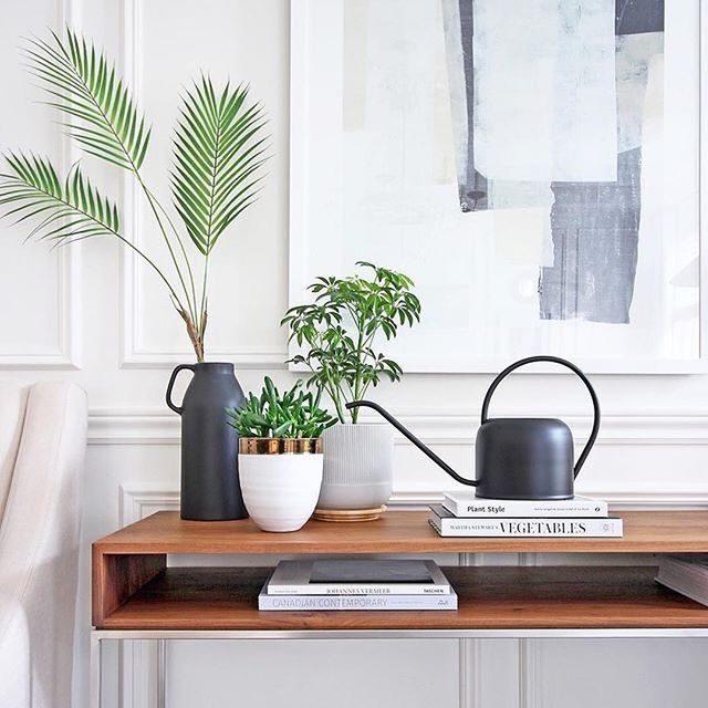 "Things we're into: #MintedArt prints and happy plants. 🌿 — ""History Repeats"" art @jenniferdailyart | Photo @amdolcevita"