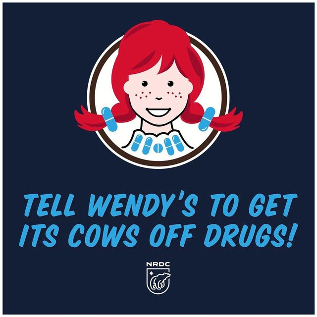 #Wendys must do its part in fighting one of today's greatest global health threats: antibiotic resistant bacteria that make once-common infections difficult or impossible to treat. Tell @wendys to end antibiotic overuse in its beef supplies! Visit the link in our bio to take action!  #antibioticresistance #amr #superbugs #beef #burgers #publichealth