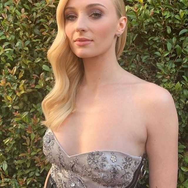 #SophieTurner stuns before the premiere of #DarkPhoenix. 🔥 Link in bio for details on her red carpet look. @wellahairusa