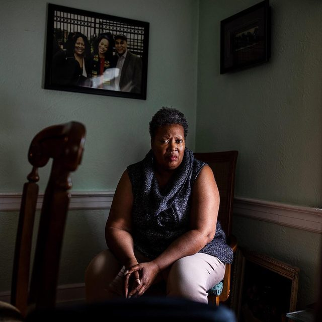 """Yvette Jordan, a teacher at Newark, New Jersey's Central High School and a resident of the city's South Ward, worries about her students. Some haven't heard of the city's drinking water crisis when she first tells them, and many don't yet have water filters installed in their homes to protect against lead. She knows that lead exposure, even at low levels, is particularly dangerous for developing brains. To help spread awareness, she recently included a lesson on environmental justice in her Intro to Social Justice class. They discussed the parallels of the crisis they are facing to the better-known one in Flint, Michigan. """"Their response was that it was more of the same,"""" Yvette says. """"They said, 'OK, we know this is happening, it's awful, but what do you expect? That's what we get here.'"""" Read more: Link in bio.  #newark #environmentaljustice #newjersey #drinkingwater #flint #ej #climate #cleanwater"""