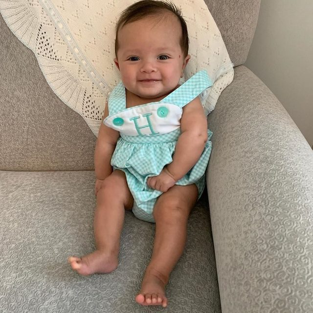 Check out this little one!! Our Edisto Romper is all knit and now on SALE for only $16!  3m, 6m, 9m, 2t, & 3t left in stock.