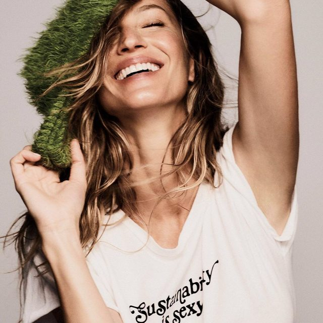 """In 2008, @gisele and her family founded Projeto Água Limpa (""""Clean Water Project"""") in Brazil. For five years, """"we planted over 40,000 trees on the riparian margins of the stream and cared for the land until the trees grew strong,"""" which, she says, not only improved the water quality of her hometown but also helped restore its wildlife. Link in bio for the full July cover story.  ELLE July 2019: Editor-in-chief: @ninagarcia Cover star: @gisele Photographer: @chriscolls Styled by: @ilona_hamer Written by: @niquepeeks"""