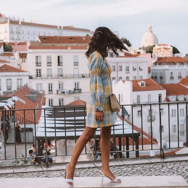 A pretty dress for a pretty city @thefierce_nay 😍