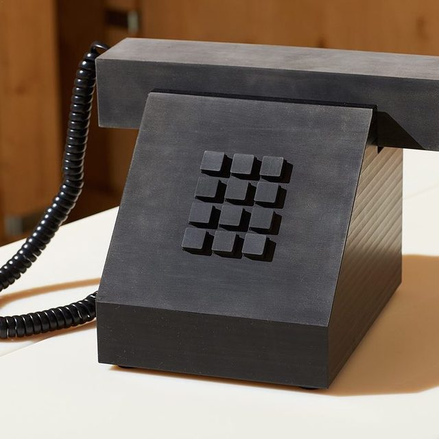 We've professed our love for retro phones before, but this whole collection by @philippemalouin for @salon94design actually makes us excited for a desk job 🙌📠😍 via @_sightunseen_