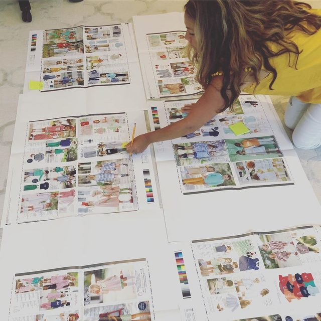 Fall is right around the corner and will be here before we know it 🍁🍂We are wrapping up some remaining details before the season starts here at home office. Shown: our graphic designer, Brittany, making last minute catalog edits 👏🏻🙌🏻 Signup for a catalog to be mailed to you through the link in our profile 💌