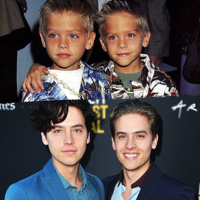 #BigDaddy premiered 20 years ago today, so here's a reminder that Dylan and Cole Sprouse had the suitest glo-up of all time. (📸: Getty Images)