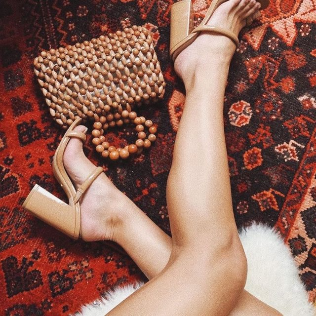 @claudiagraziano stems for days in the Brindis Heel. #rayeallday
