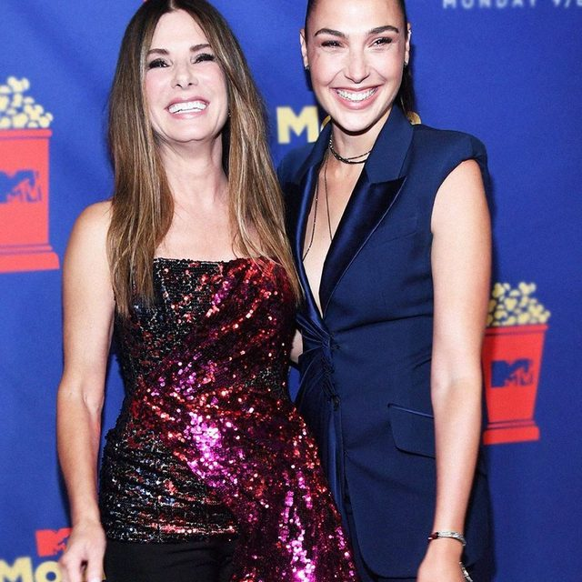 OUR Wonder Women! 💛❤️ #MTVAwards (📷: Getty Images)