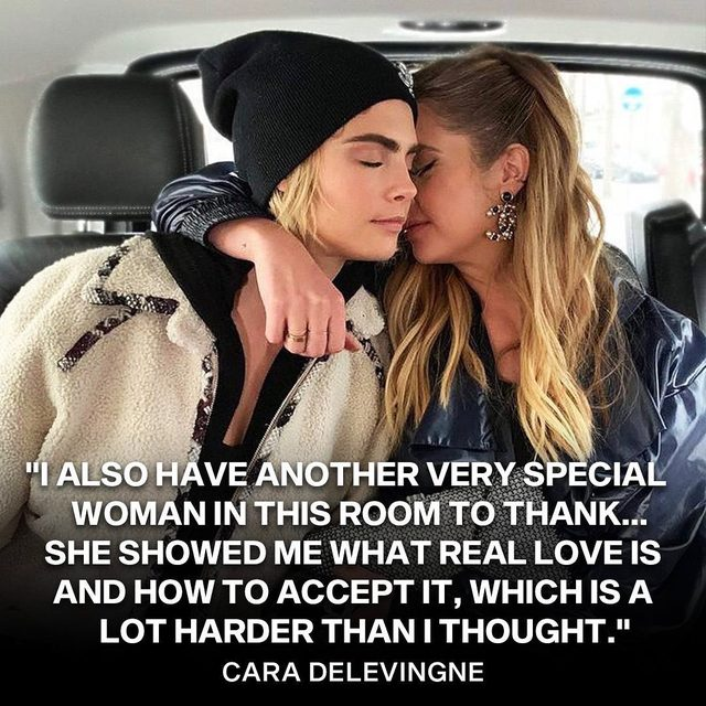 Ashley Benson and Cara Delevingne make a Pretty Little pair. 💖 They made their relationship public after one year of dating in a BIG way. Link in bio. (📸: @sweetbabyjamie)