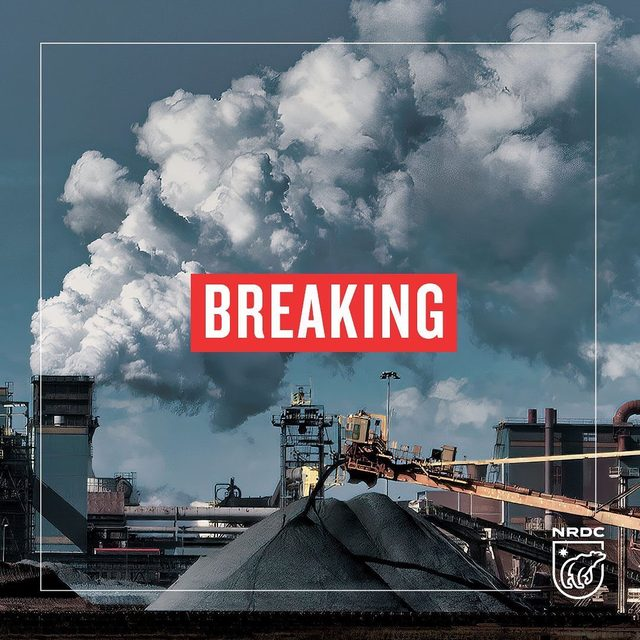 """BREAKING: Trump's EPA's #DirtyPowerPlan will aggravate the  #ClimateCrisis! """"It would give polluters free rein and doom future generations to a dangerously hostile world."""" NRDC President, @RheaSuh. The #CleanPowerPlan is America's best option yet for cleaning up dirty power plants that make up nearly 40% of our carbon footprint. We should strengthen that plan, not cripple it. Learn more at the link in our profile. #CleanAir #ClimateChange #ClimateCrisis #ClimateAction #Climate"""