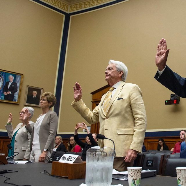 """""""We all have a moral responsibility to our children to protect them from pollution today while we act on climate to protect their future."""" Gina McCarthy, former EPA Administrator 2013 – 2017. Last week, former EPA administrators—three of whom served during Republican administrations—convened in Washington to remind us that the new normal isn't normal at all. The U.S. Environmental Protection Agency used to actually protect the environment and public health but now the Trump administration's ethos of rollbacks and industry favors has turned the agency on its head. Learn more at the link in our profile! #SaveTheEPA CREDIT: Caroline Brehman/CQ Roll Call via Associated Press"""