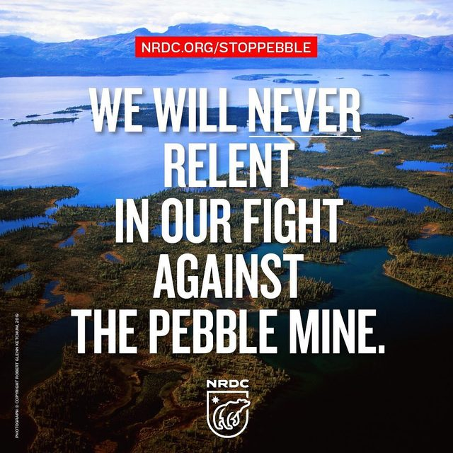 The U.S. Army Corps of Engineers is recklessly fast-tracking the destructive Pebble Mine — a catastrophic gold and copper mega-mine that could destroy Alaska's spectacular Bristol Bay wilderness and its wildlife.  If opened, the Pebble Mine could produce billions of tons of mining waste, directly endangering streams that produce half the world's sockeye salmon, becoming a threat to the Native peoples and wildlife like brown bears and bald eagles that depend on those fish.  Go to the link in our profile to tell the Army Corps that you oppose the toxic #PebbleMine! #StopPebbleMine #Alaksa #AlaskaWild #AlaskaNature #BristolBay