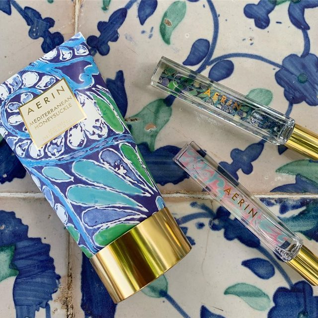 One of my favorite fragrances Mediterranean Honeysuckle was inspired by the beauty and scents of the Almalfi Coast..#AERINbeauty
