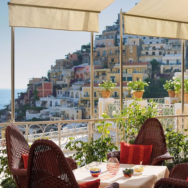 I love our new @emporiosirenuse exclusive collection for AERIN.. Inspired by the beauty of the Amalfi Coast and my love for Positano.. Now available in AERIN stores and on www.AERIN.com.. Swipe right to discover more #lesirenusepositano #FriendsOfAERIN