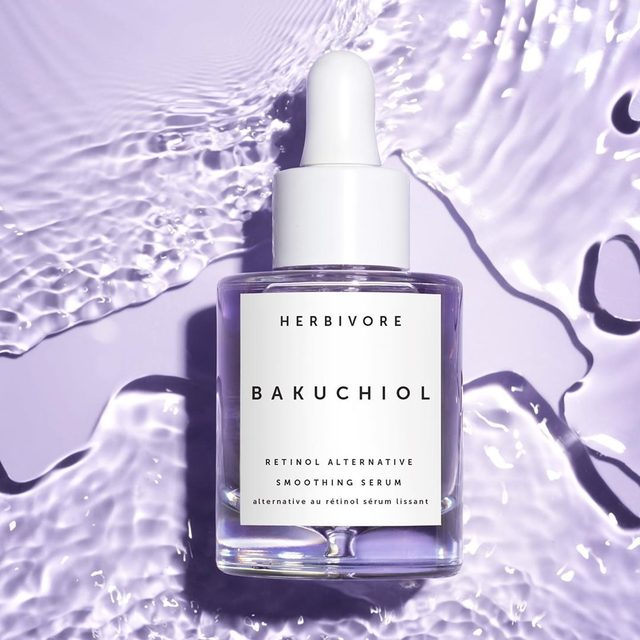 She's here!✨💜✨Say goodbye to irritating retinol and hello to Bakuchiol Serum! Derived from the Ayurvedic Babchi plant, Bakuchiol is a 100% natural, non-irritating retinol alternative. The Babchi flower flaunts a magical purple hue that occurs rarely in the botanical world. Bakuchiol (Ba-koo-chee-al) harnesses this purple power to visibly smooth fine lines and wrinkles while sealing in hydration. Available exclusively today at Herbivore.com and the @Sephora app Coming to Sephora.com tomorrow, 6/27 💜#powerofpurple #bakuchiol #retinolalternative #cleanatsephora