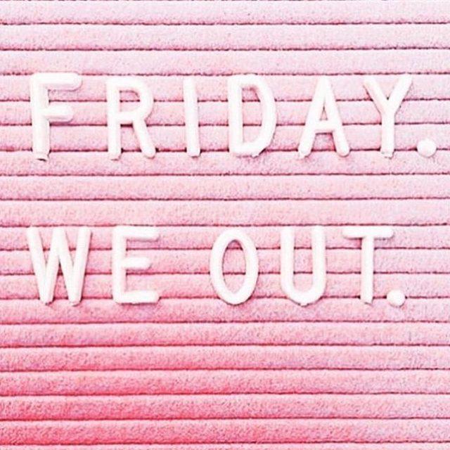 FRIYAY ✌️ What are your weekend plans?  photo via @annedimitriadisbeauty  #friyay #weekeendvibes
