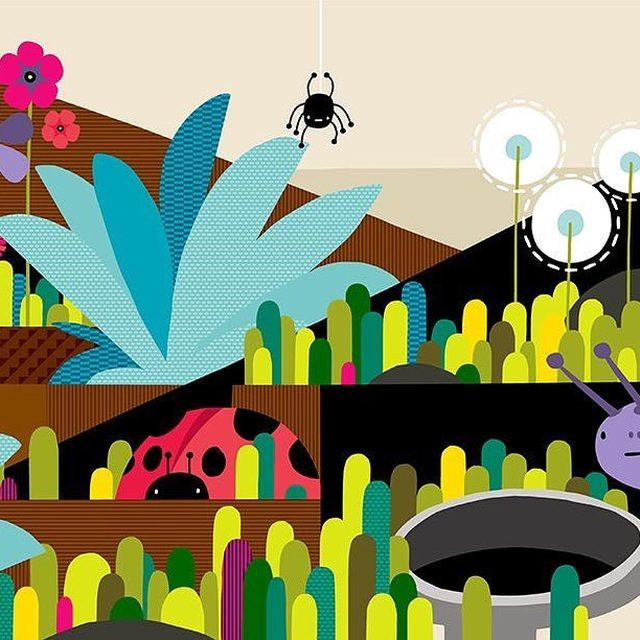 Want to avoid using weed killers in your garden this summer? 🌻 Try these natural solutions instead! Natural solutions like mulch, cover crops, vinegar, and a little elbow grease will help keep the chemicals out of your garden—and your body. 🌸 Visit the link in our profile for more tips! [art by: @alexebenmeyer] - #garden #gardening #toxics #home #nature