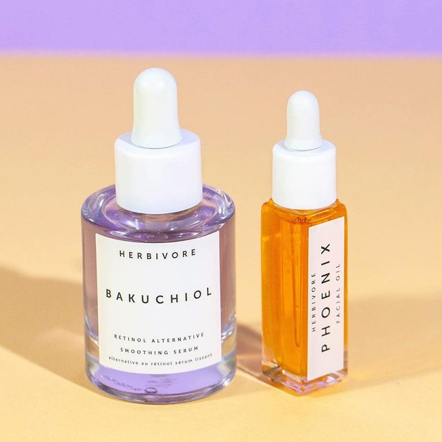 Bakuchiol Serum and Phoenix Oil are deeply renewing and skin revitalizing sister products. When you purchase Bakuchiol Serum until 7/17 we will give you a mini Phoenix Oil (pictured) so that you can experience the magic of these deeply renewing, hyperpigmentation-fighting, fine line softening cosmic twins for yourself. Also, Bakuchiol Serum ships for free from herbivore.com anywhere in the U.S. 🔥🔮🔥#bakuchiol #phoenixoil #beyondcleanbeauty