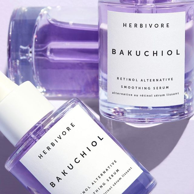 """Retinol Alternative"" means that Bakuchiol works in the same way that retinol does without the irritation, dryness or UV sensitivity -  and its even safe to use during pregnancy! Watch our stories today for a side by side comparison. ✨💜✨ #bakuchiol #retinolalternative #powerofpurple"