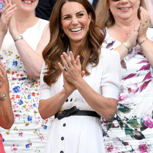 The Duchess of Cambridge is keeping us guessing this week with not one, but two surprise appearances—and an unusual seat choice at #Wimbledon. Full story at the link in bio.