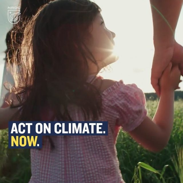 """The evidence for human-driven climate change has reached the """"scientific gold standard,"""" according to a report in the journal Nature Climate Change. That means the chance that we're not responsible for global warming and its effects is one in a million. The time for debate is over. The time to act is running out. Take action via the link in our profile. - #actonclimate #climatechange #cliamtechangeisreal #science #globalwarming"""