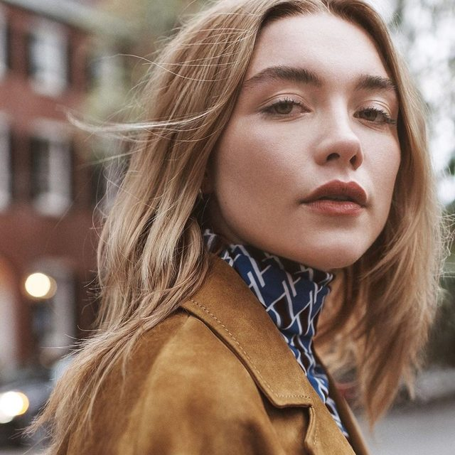 With upcoming roles in Marvel's Black Widow and Greta Gerwig's Little Women, #Midsommar's Florence Pugh is on the cusp of a major breakthrough. Read her full V.F. profile at the link in bio. Photograph by Steven Pan.