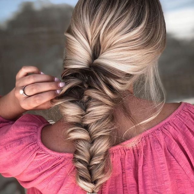 We're living for this fishtail created by @brushedbyaraven 😍Recreate and secure this braid with Goody elastics at @target #summerhair #feelgoody #livegoody