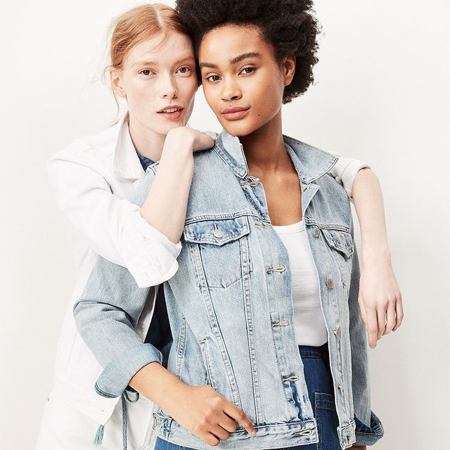 The Icon denim jacket. The only one you'll ever need. Make it yours: link in bio. #GapDenim