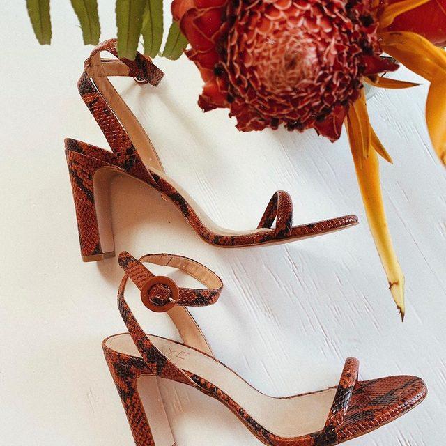 Ultimate solemates. Shop the Glendora Heel. #rayeallday