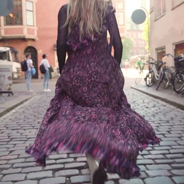 The What About Love Maxi Dress is perfect for dramatic power walks. @frejawewer