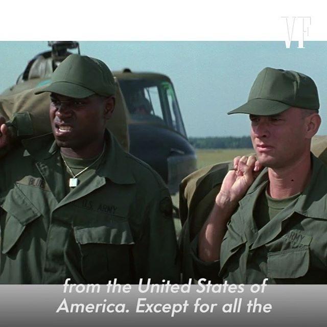 In honor of the film's 25th anniversary, Rick Carter, #ForrestGump's production designer, breaks down Lt. Dan's first scene.