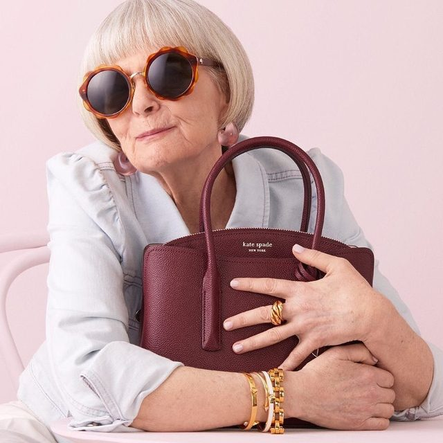margaux is back in new shades. (we love @iconaccidental.) #katespade #loveinspades