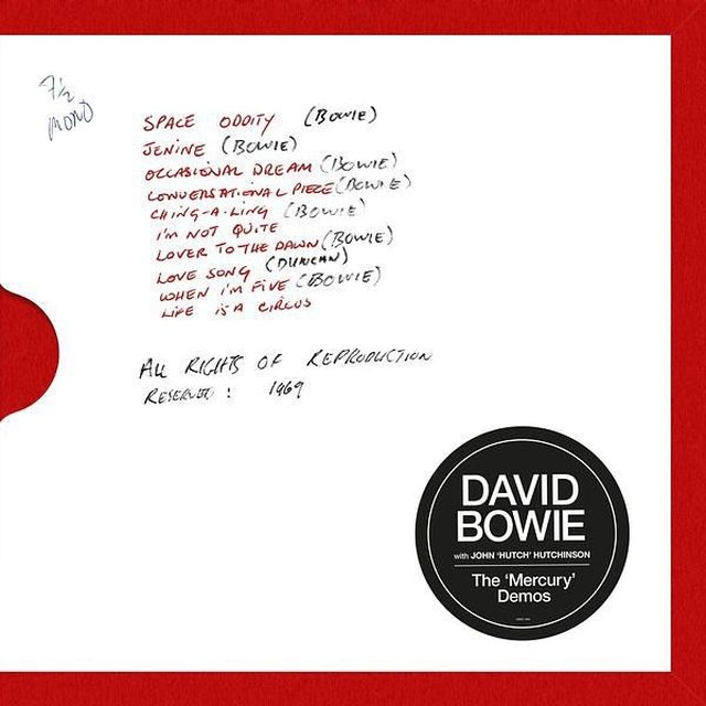 A new installment in Parlophone's ongoing reissue series revisits David Bowie's The 'Mercury' Demos, an oft-bootlegged 1969 session with fellow folkie John Hutchinson: literal bedroom tapes, but still revelatory. Head to the link in our bio to learn more about the demos.