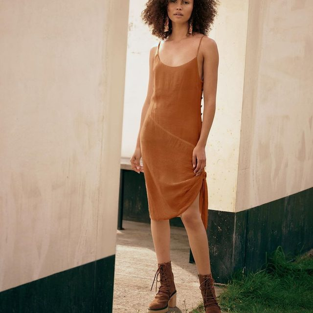This dress pairs well with your weekend plans. @isabella
