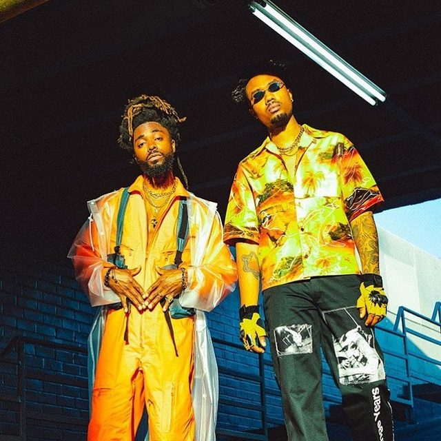"""EarthGang chat with us about touring with Mac Miller, why Atlanta is like the Land of Oz, and what to expect from their debut album for J. Cole's Dreamville label. Get to know the eclectic world of these two Atlanta dreamers in the link in our bio. — 📷 by Alex """"Grizz"""" Loucas"""