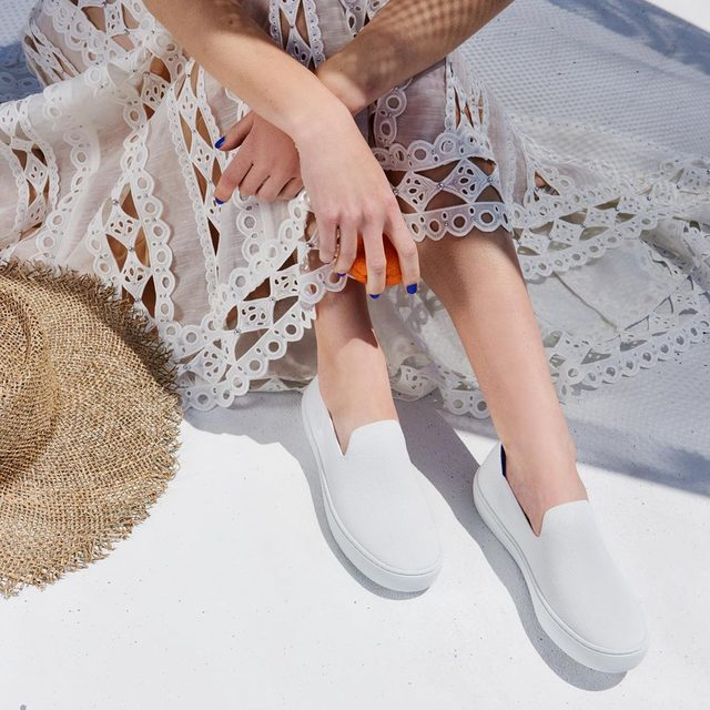 This is our go-to summer look. What are you wearing with your #rothys this summer?
