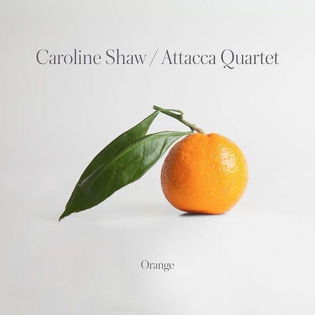 On Orange, Caroline Shaw combines elements of 20th century minimalism with Vivaldian brightness and a rustic folksiness, reveling in small instrumental details and unexpected turns. She often changes course before things get too cozy, making for a classical record that feels fresh. Catch up on all the great under-the-radar albums you might have missed at the link in our bio.