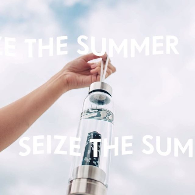 We're still seizing the summer. Spend $100 and get the Glacce Crystal Water Bottle with your purchase. Also, there's free standard shipping on all orders. Link in bio to get started and stay hydrated.  UPDATE: You sold us clean of water bottles, but stay tuned tomorrow for another surprise 🙌🏽