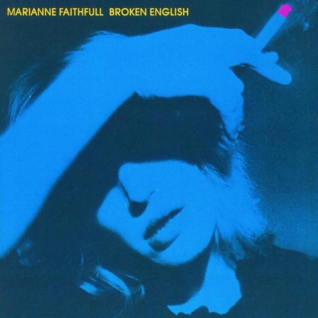 """Marianne Faithfull's chilling """"Broken English"""" is a prophetic merging of punk and dance. She was known for being Mick Jagger's muse in the '60s, but by the end of the 1970s she had weathered drug abuse and homelessness. Read why Broken English was a comeback triumph no one expected in the link in our bio."""