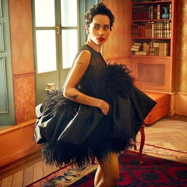 Delivered by the dynamic Zoë Kravitz, Bonnie's big moment on this week's #BigLittleLies drew complicated reactions from viewers. Full story from @vfhwd at the link in bio. Photograph by @MarkSeliger.
