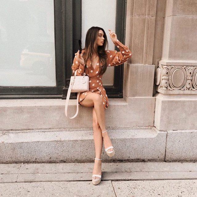 dream girl @janicejoostemaa ✨ - link in bio to shop the gibson heel #rayeallday