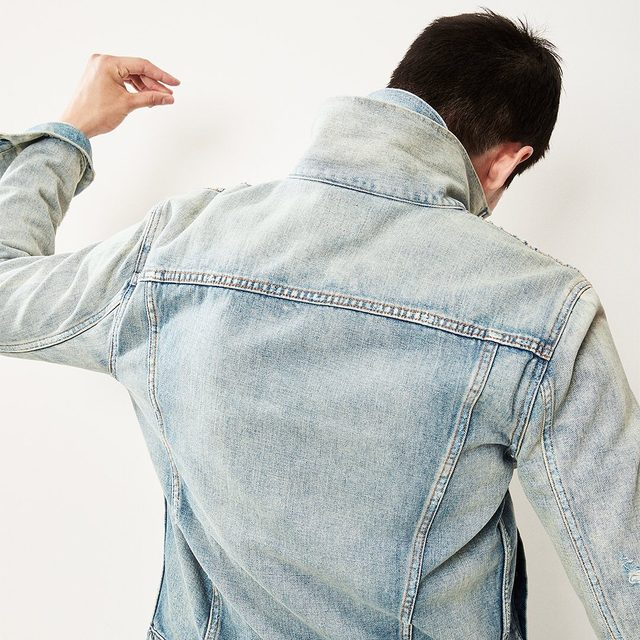 The best from day one. Even better with age. Tap to shop the Icon denim jacket. #GapDenim
