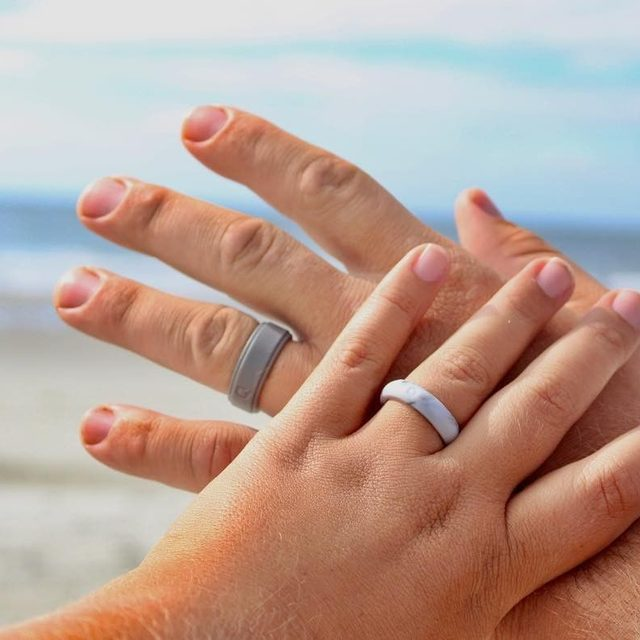 Silicone Rings Silicone Wedding Bands Active Lifestyle
