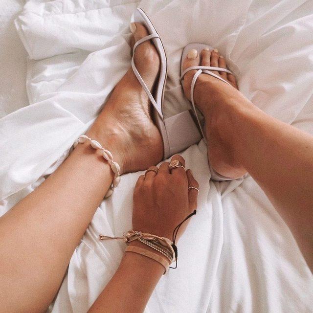 name a better duo 😍 the @lpa x RAYE cara heel #rayeallday