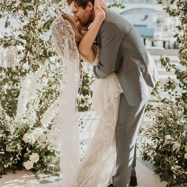 Cydney Morris of @stone_cold_fox had a wedding that proves you don't need modern details to have an unforgettable celebration. In fact, this bride looked all the way back to the Victorian era to find her inspiration and the outcome is seriously magical. 🤩 Head to the #linkinbio to see this vintage-inspired party in Australia! #WeddingOfTheDay | 📸: @joeywillis 📋: @littlelaneevents 💐: Holly Hipwell